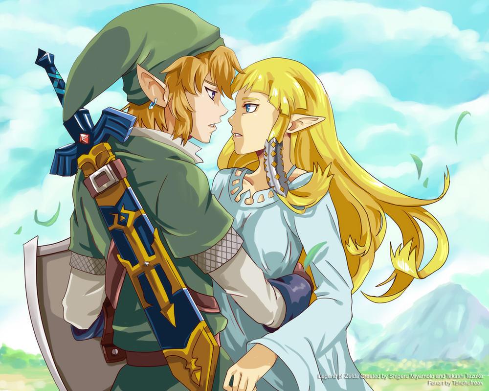 Zelda is my... by tenchufreak on DeviantArt