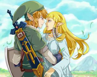 Zelda is my... by tenchufreak