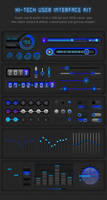 Hi-Tech UI-Kit by PavitraSTandon