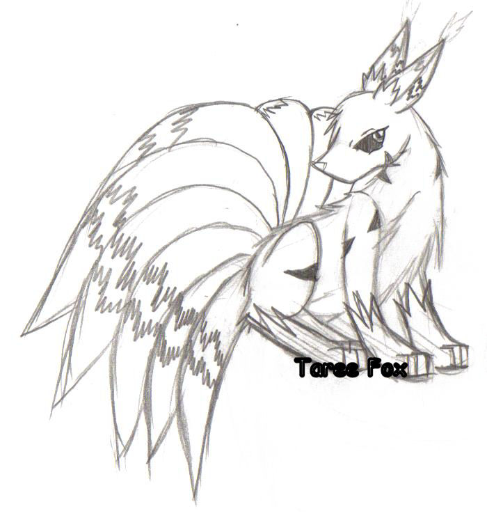 The pictures for Chibi White Nine Tailed Fox