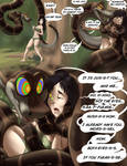 Kaa vs Jungle Girl, page 1 (Patreon exclusive)