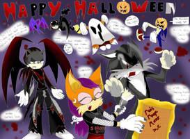 Halloween contest by Vixenkiba