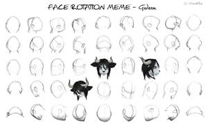 Face Rotation Meme - Gideon - 3/45 complete!