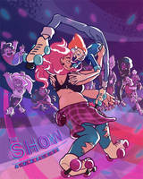 [SU] The Show : Pearl and Mystery Girl by Vixenkiba