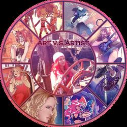 Art VS Artist Meme + Template Download