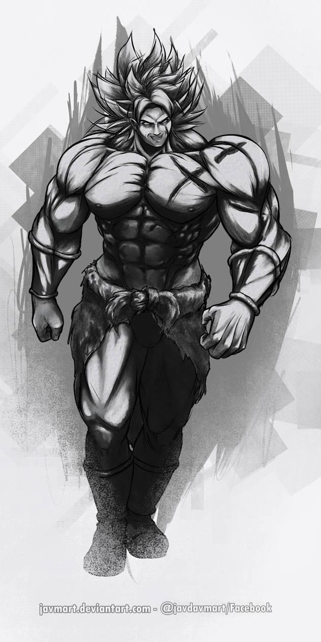 Broly Invencible Ink2
