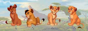 Pridelander cubs Adoptable CLOSE!
