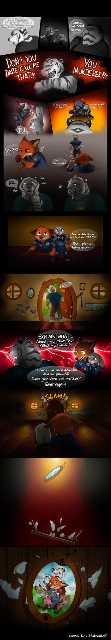 The White Tiger - Zootopia fans comic by RFakonWolf