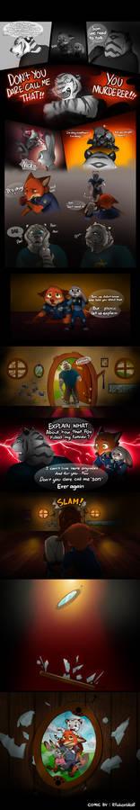 The White Tiger - Zootopia fans comic