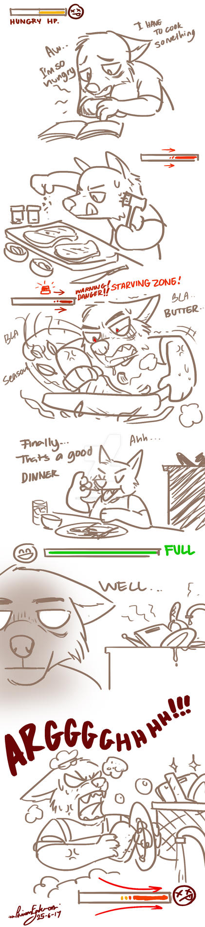 I hate this... by RFakonWolf