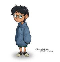 Young Harry - Human drawing practicing NO.4 by R-FakonWolf