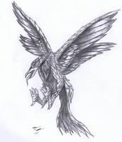 Stymphalian Bird by ChibiHob0