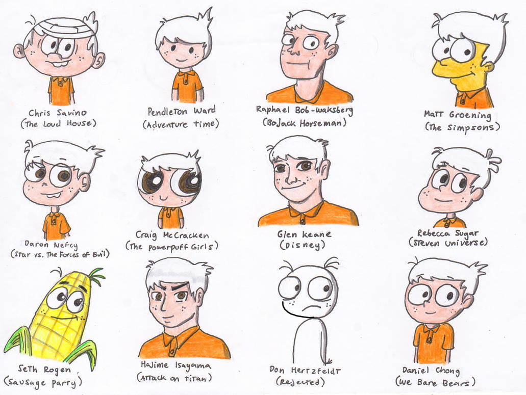 Lincoln in 12 Different Styles by Finnjr63