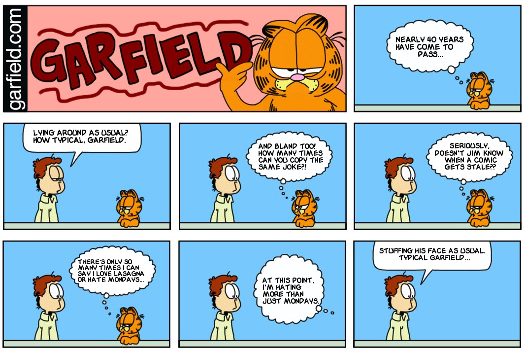 garfield s thoughts by finnjr63 on deviantart