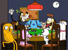 Poker Dogs Redone by Finnjr63