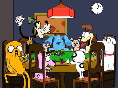 Poker Dogs Redone