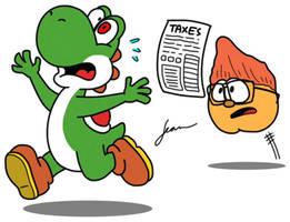 Yoshi Gotta Run!