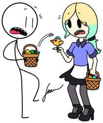 Easter Egg Surprise by Finnjr63