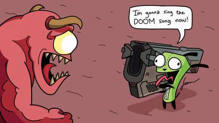 GIR Plays Doom Again
