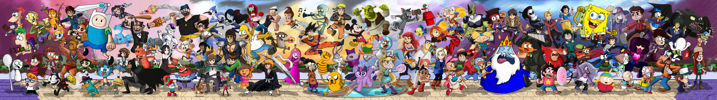 The Tooniverse Collides!