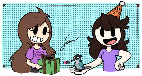 Birthday Gift for Jaiden Animations (2) by Finnjr63