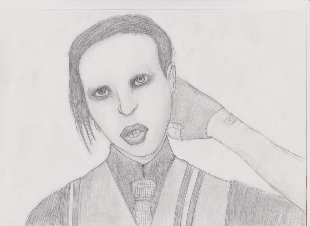 Marilyn Manson by iBoy98
