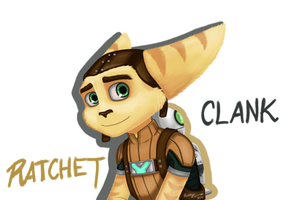 Ratchet and Clank by OwlRIks