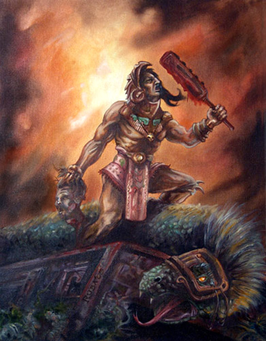 Aztec Victory By Rubart On Deviantart