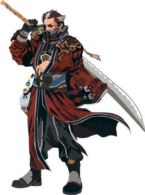 Auron from FF-X by immortalcancer