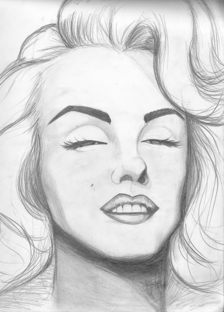 Marilyn Monroe 2 By Champuru On DeviantArt