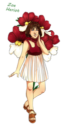 Dr Who Flowers - Zoe by Miss-Alex-Aphey