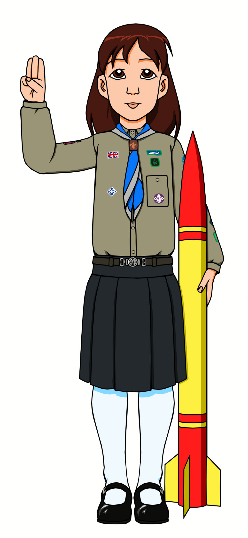 Explorer Scout Holly by Yet-One-More-Idiot