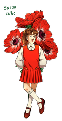 Dr. Who Flowers - Susan Who by Yet-One-More-Idiot