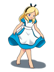 Alice - Alice in Wonderland (1951) by Yet-One-More-Idiot
