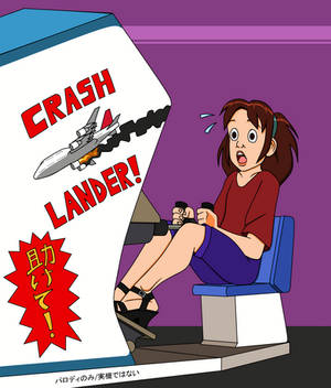 Crash Lander arcade game by Yet-One-More-Idiot