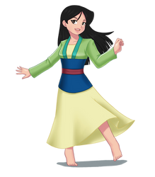Fa Mulan - Mulan (1998)