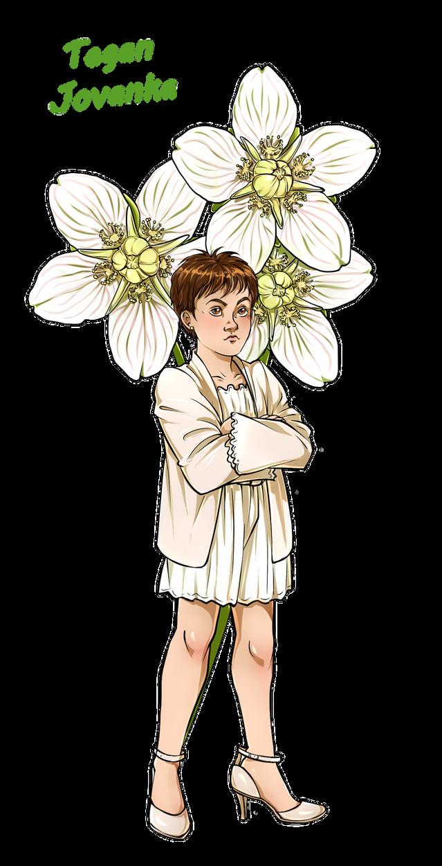 Doctor Who Flowers - little Tegan