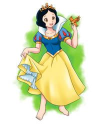 Snow White - Snow White + the Seven Dwarfs (1937)