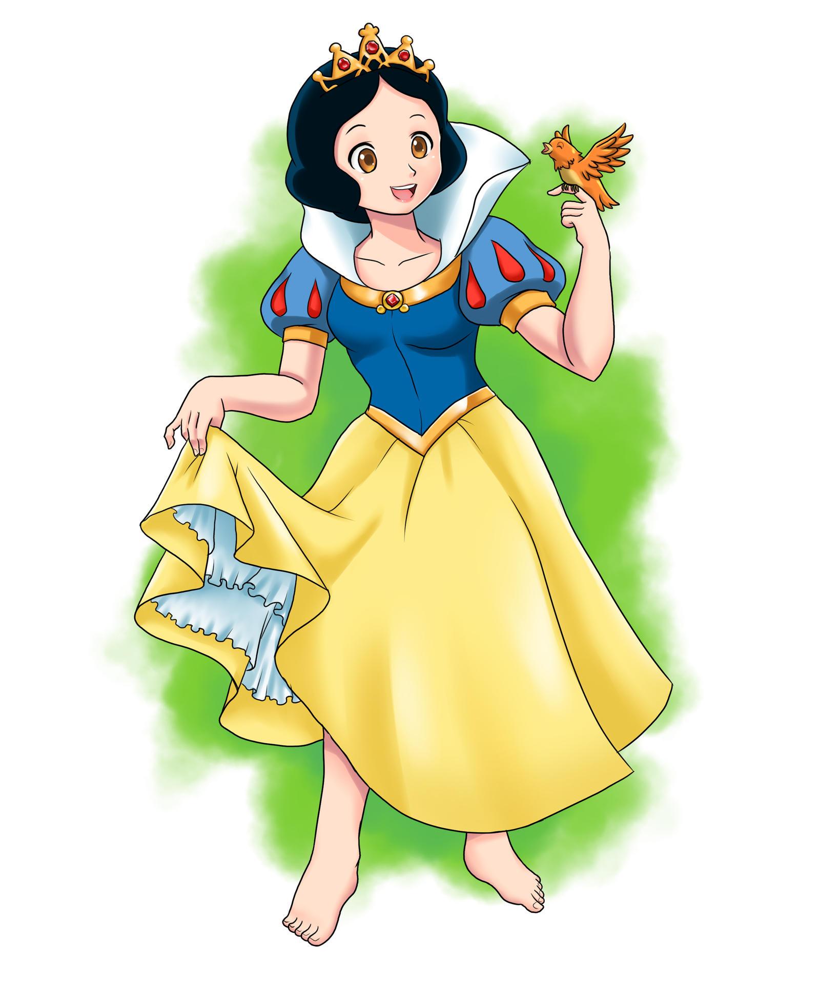 Snow White Snow White The Seven Dwarfs 1937 By Yet One More Idiot On Deviantart