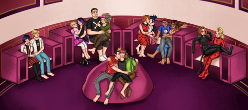 Miraculous date night party!