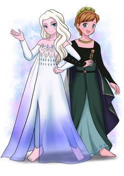 Queen Anna and Spirit Elsa - Frozen II (2019)