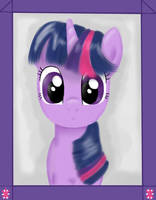 Portrait of Twilight Sparkle by FinnishGirl97