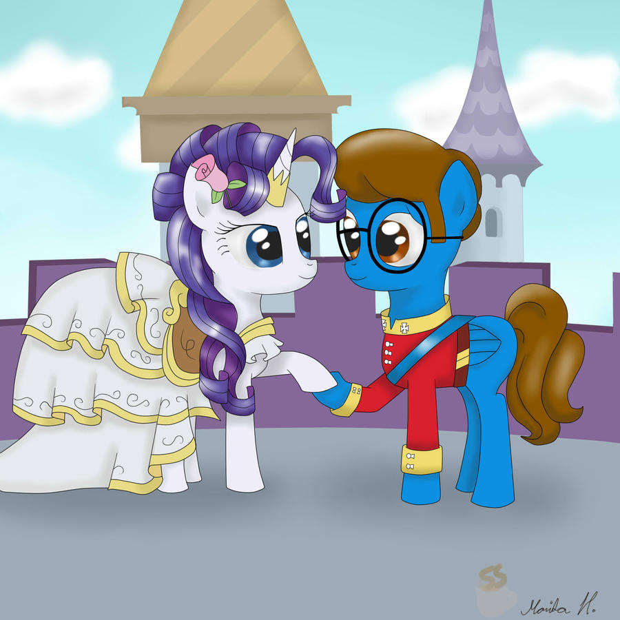 Blaine and Rarity's wedding day by FinnishGirl97