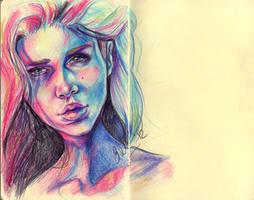Colour Sketch by elfythegreat