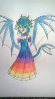 Oc: Water dragon Princess Loretta