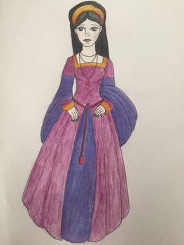 oc redesign: Queen Cassandra, the cursed
