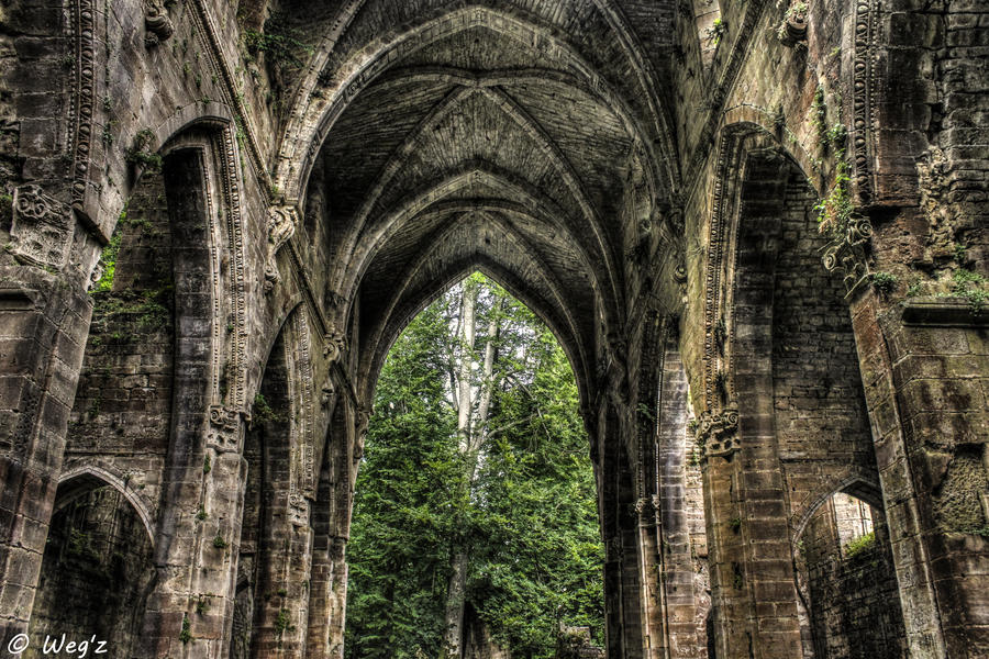 When nature meet architecture ii hdr by biohazardsystem on Architecture nature