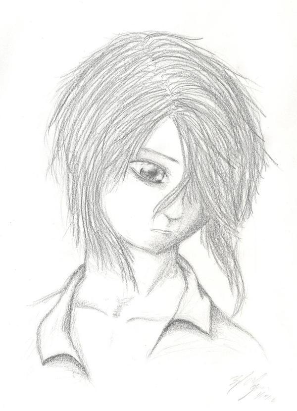 anime guy by nekrozombie