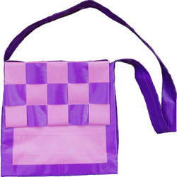 Purple and pink bag by KMCdesigns