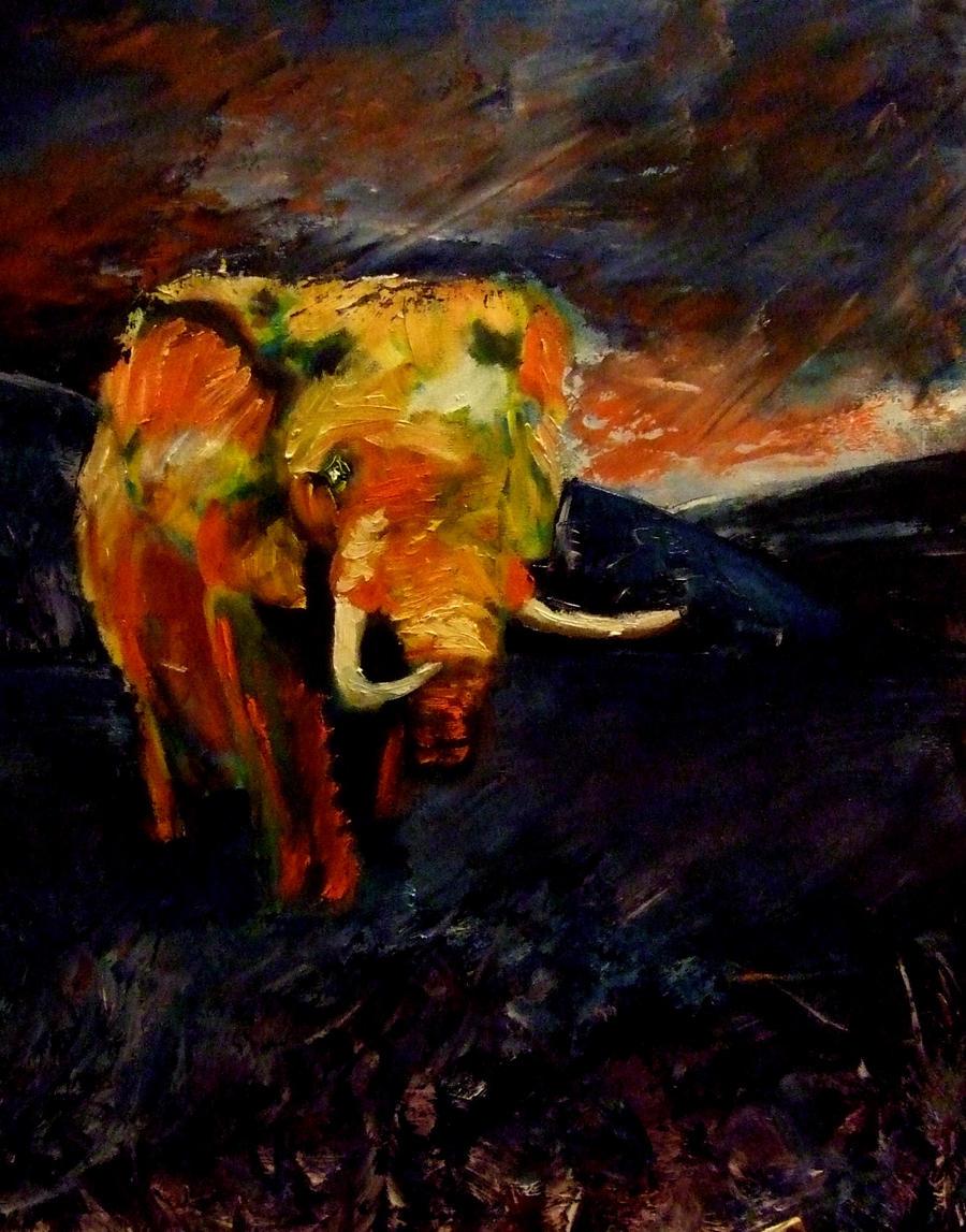 Elephant by meeart